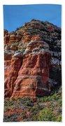 Red Rocks Of Sedona Bath Towel