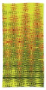 Red Rose Abstract # 0050pcwc Bath Towel