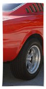 Red Stang Bath Towel