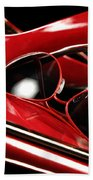 Red Stylish Accessories Bath Towel