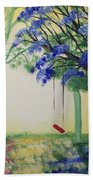 Red Swing Fantasy Hand Towel
