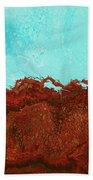 Red Tide Bath Towel