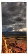 Red Valley Hand Towel