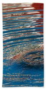 Red White And Blue Bath Towel