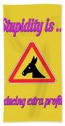 Reducing Bigstock Donkey 171252860 Bath Towel