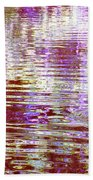 Reflecting Purple Water Bath Towel