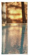 Reflecting Trees Bath Towel