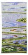 Reflection Abstract Abstract Bath Towel