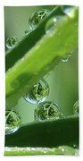 Reflection Beads Bath Towel