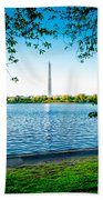 Reflection Of Washington Bath Towel