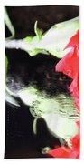 Reflections Of A Carnation Bath Towel