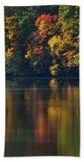 Reflections Of Colors Bath Towel