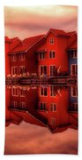 Reflections Of Groningen Bath Towel