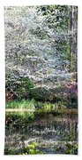 Reflections Of Spring Bath Towel
