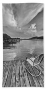 Relaxing On The Dock Bath Towel