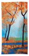 Remembering Autumn Hand Towel