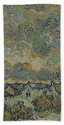 Reminiscence Of Brabant Saint Remy De Provence March - April 1890 Vincent Van Gogh 1853  1890 Bath Towel