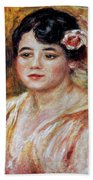 Renoir: Adele Besson, 1918 Hand Towel