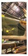 Republic F-105 Thunderchief Bath Towel