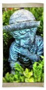 Restful Moment In The Garden Hand Towel