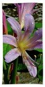 Resurrection Flower Hand Towel