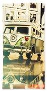 Retro 60s Toy Van Bath Towel