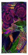 Return Of Paradise Glass Bath Towel by Joseph Mosley