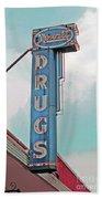 Rexall Drugs Bath Towel
