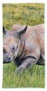 Rhinosceros Bath Towel