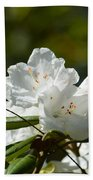 Rhododendron II Bath Towel