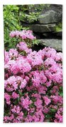 Rhododendrons Bath Towel