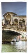 Rialto Bridge Bath Towel