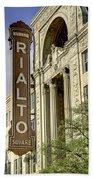 Rialto Theater Bath Towel