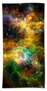 Ribbon Nebula Bath Towel