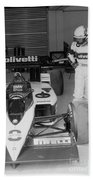 Riccardo Patrese. 1986 Spanish Grand Prix Bath Towel