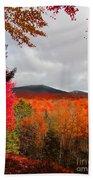 Rich Fall New Hampshire Colors Bath Towel