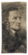 Richard Wagner  Bath Towel