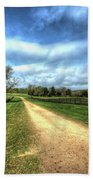 Richmond-lynchburg Stage Road, Appomattox, Virginia Bath Towel