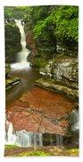 Ricketts Glen Adams Falls Bath Towel