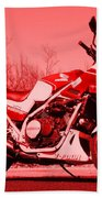 Ride Red Hand Towel