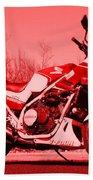 Ride Red Bath Towel