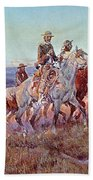 Riders Of The Open Range Bath Towel