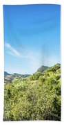 Riding The Roads Of Andalucia Bath Towel