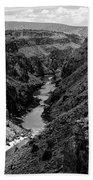 Rio Grande Carved Canyon 2 Bath Towel