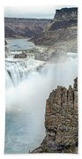 Ripping Shoshone Falls Bath Towel