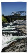 River Bridge Bath Towel
