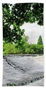 River Derwent Weir - Derby Bath Towel