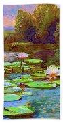 The Wonder Of Water Lilies Bath Towel