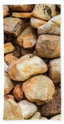 River Stones Bath Towel