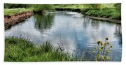 River Tame, Rspb Middleton, North Bath Towel